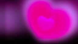 Romantic Valentine Heart Animation Stock Footage Animation