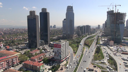 Istanbul, Business District, Skyscrapers, Skyline, ビデオ