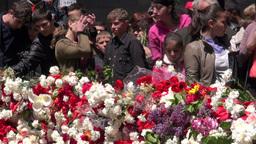 Genocide memorial in Armenia Footage