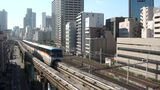 Tokyo monorail Footage