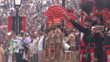 Soldiers at Pakistan India Wagah border Footage
