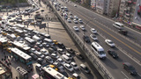 Traffic jam, Istanbul highway Footage