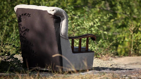 Lounge Chair stock footage