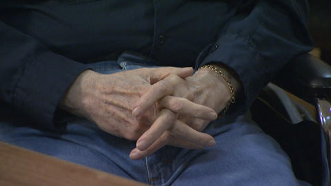 Elderly Alzheimers Hands 10 Footage