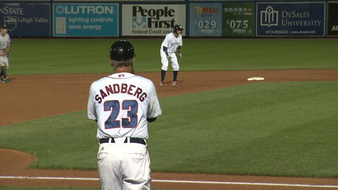 Ryne Sandberg Baseball Coach Game 3 Footage