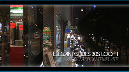 Elegant Slides 30s Loop II - Apple Motion and Final Cut Pro X Template Apple Motion Project
