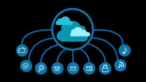 Cloud Computing Concept Animation