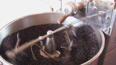 Coffee Roaster Live Action