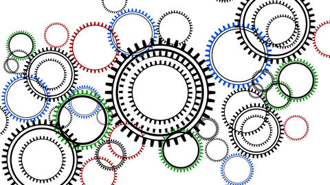 Cogs Loop stock footage