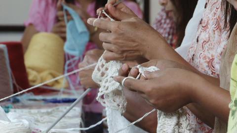 Crochet Footage