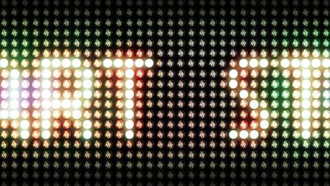 Light Panel START Animation