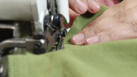Manufacturing Garments Footage