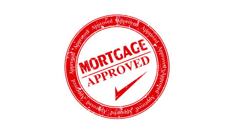 Mortgage Approved stock footage