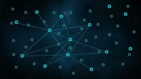Network Matrix Stock Video Footage