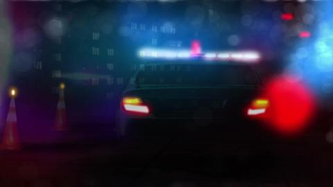 Police Car Animation