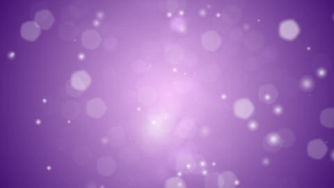 Purple Snow Lights Background Stock Video Footage