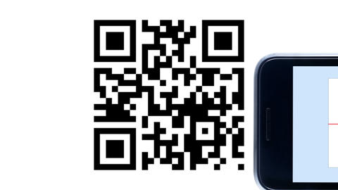 QR Code Product Recognition Animation