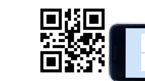 QR Code Smart Phone Animation