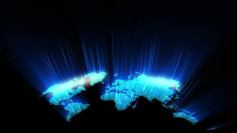 Radiant World Loop Animation