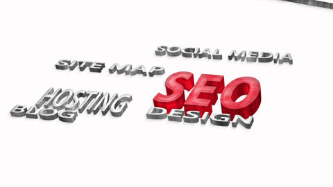 Search Engine Optimization stock footage
