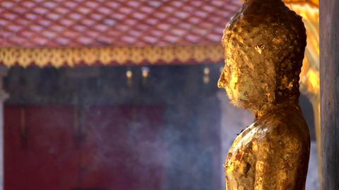Smoking Buddha Footage