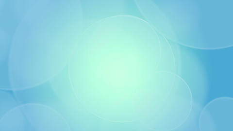 Soft Circles Blue Background stock footage