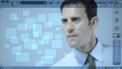 Touch Screen Photos stock footage
