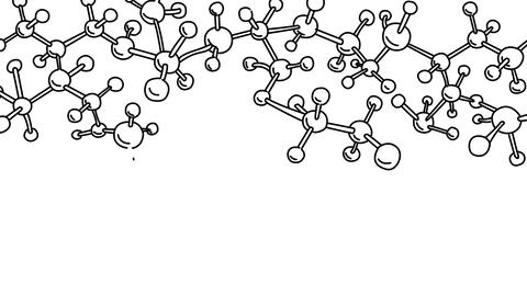 Whiteboard Molecule Structure Animation