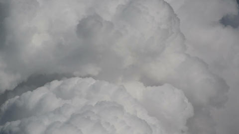 cumulus monsoon clouds quick time lapse 11271 Footage