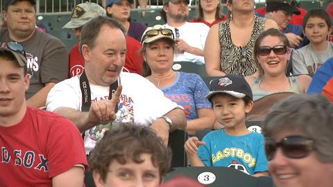Baseball fans 4 Footage