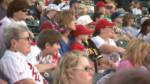 Baseball Fans 2 Footage