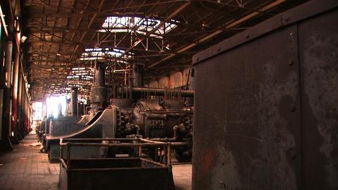 Bethlehem Steel Inside Factory Footage