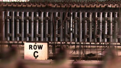 Bethlehem Steel Room 2 Pan Right Footage
