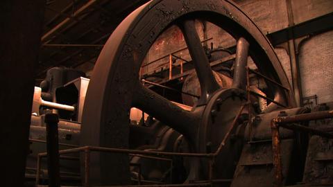 Bethlehem Steel Giant Wheel - Work Room Footage