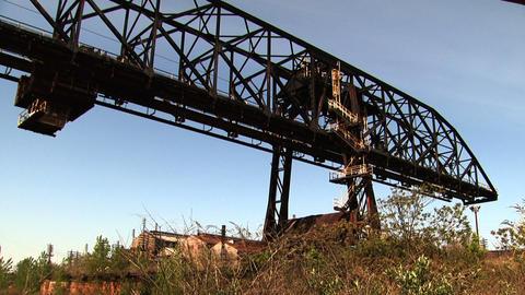 Bethlehem Steel Crane Footage