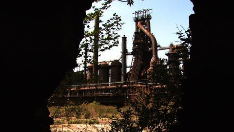 Bethlehem Steel Blast Furnace Footage