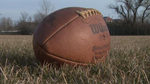 Football 5 stock footage