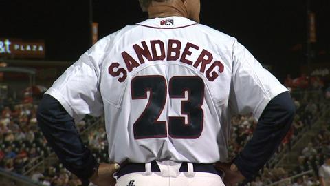 Ryne Sandber Baseball Coach Footage