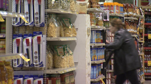 Grocery Store 1 Footage