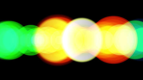 Orange Glow halo.Color fashion stars space universe ray.Abstract stage light Animation