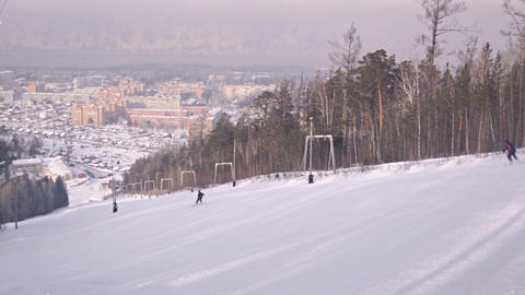 Divnogorsk Skiing 12 Footage