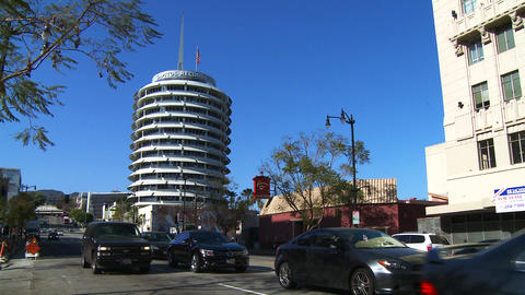 Hollywood Capitol Records on Vine Footage