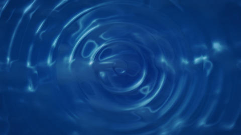 Water Drop Ripple (24fps) stock footage