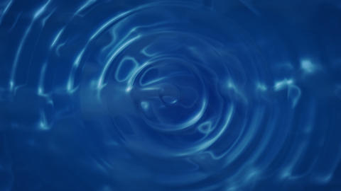 Water Drop Ripple (30fps) stock footage