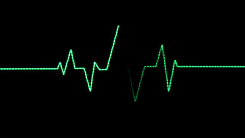 Heart Rate Monitor (24fps) CG動画素材