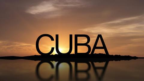 Cuba Sunset Timelapse Footage