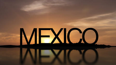 Mexico Sunset Timelapse Footage