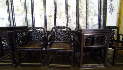Antique furniture 2.7K Footage