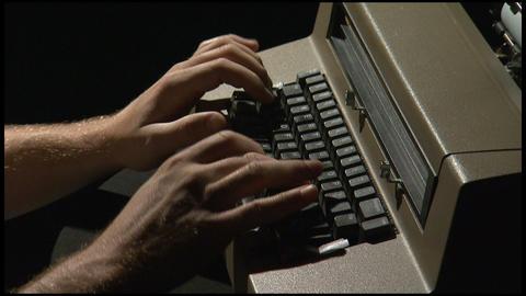 Old Typewriter 1 Live Action