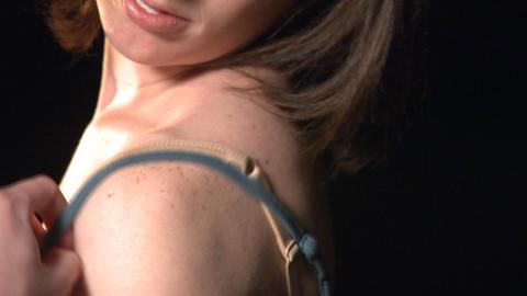 Female Undressing 2 Footage